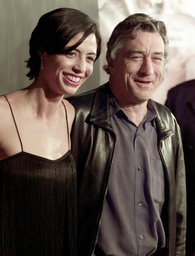 FAR OG DATTER: Robert De Nira sammen med datteren Drena De Niro på en filmpremiere i Los Angeles i 2002. Foto: NTB Scanpix
