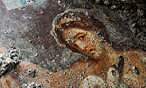 image: Fant erotisk kunst begravd i Pompeii