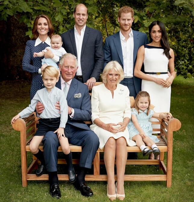 Full family members: When Duchess Meghna married Prince Harry in May, she became a full member of the British royal family. Now it turns out that it's not just that. Photo: NTB ScanPix / AFC