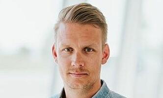 <strong>LADER OPP:</strong> Volvos PR-sjef i Norge, Erik Trosby, kan love tre nye ladbare hybrider til neste år.