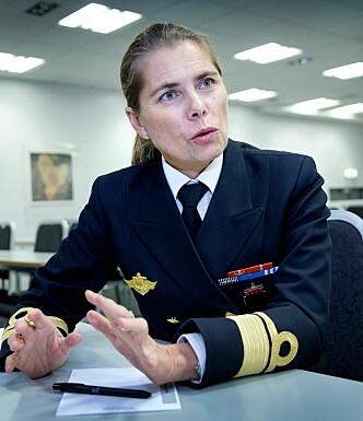 KOLLEKTIVT FORSVAR: - NATOs søkelys er kollektivt forsvar, sier viseadmiral Louise Dedichen. Foto: Henning Lillegård / Dagbladet
