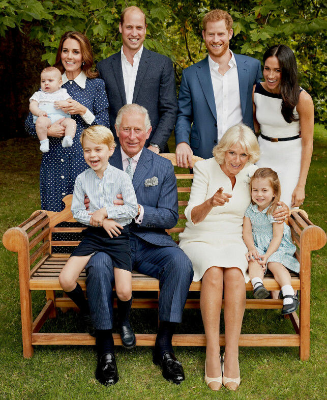 Smith to Camera: Prince Charles's 70th Birthday Photography Enjoys the Royal Family Enjoy! Photo: NTB ScanPix