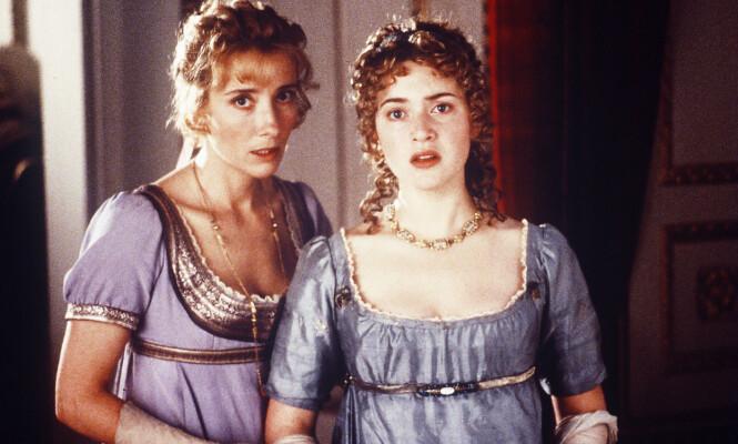 STJERNEDUO: Emma Thompson og Kate Winslet bergtok norske seere i filmen «Fornuft og følelser» fra 1995. Foto: Columbia/Kobal/REX/Shutterstock