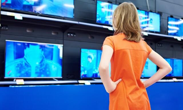 61ed3302 MANGE REKORDLAVE PRISER: Særlig på TV-er er det mange gode tilbud i dag
