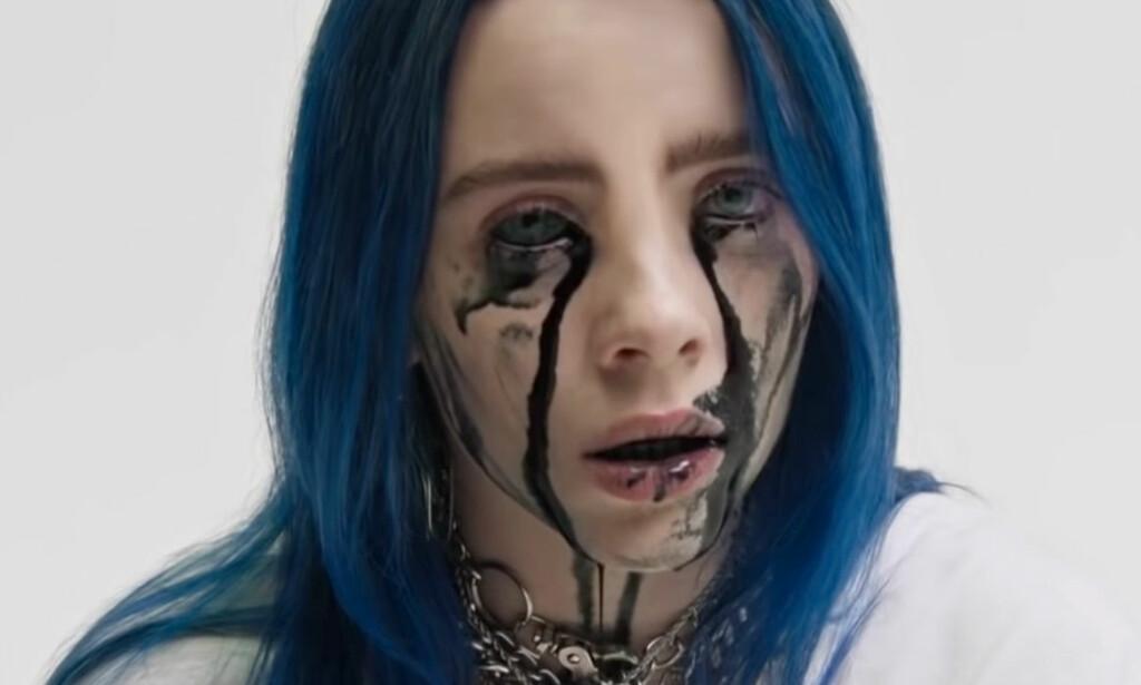 MUSIKKVIDEO: Billie Eilish illustrerer kjærlighetssorg i videon til sin nye singel, «When the Party's Over».
