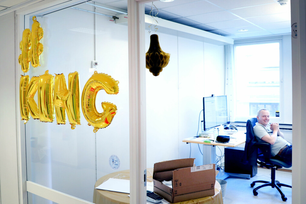 Hos Fiken sitter utviklerne på små kontorer, med maks én annen. Her finner man ingen åpne kontorlandskaper. 📸: Jørgen Jacobsen