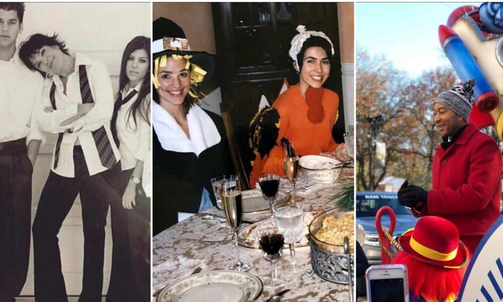 <strong>TAKKNEMLIGHETENS DAG:</strong> Flere av Amerikas store kjendiser feiret den store høytidsdagen sammen med sine kjære og nære. Foto: Instagram