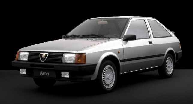 ALFA ROMEO ARNA: Foto: Press