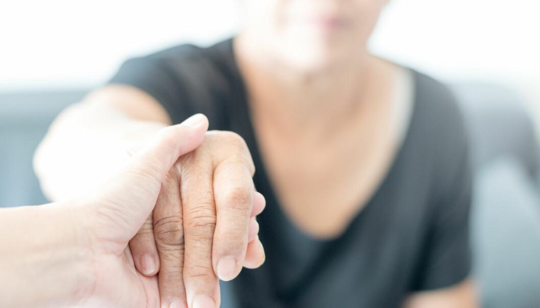 <strong>DEMENS:</strong> Alzheimer er bare en av over hundre sykdommer som omtales som demens. Foto: Shutterstock