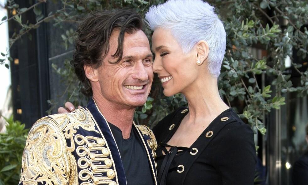 NYTER HVERANDRES SELSKAP: Petter og Gunhild Stordalen lever begge svært hektiske liv. Nå avslører de hvordan de, når de først har tid, kobler av sammen. Foto: Andreas Fadum