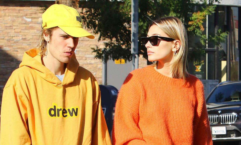 BEKREFTER EKTESKAPET: Justin Bieber har delt de første ordene om bryllupet og ekteskapet med kona Hailey Bieber. Foto: NTB Scanpix