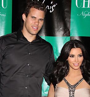 TRE EKTESKAP: Kim har tidligere også vært gift med basketballspilleren Kris Humphries. Paret var gift i 72 dager. Foto: NTB Scanpix