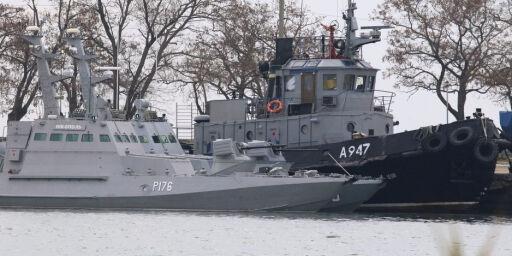 image: Her er båtene som førte til full klinsj mellom Ukraina og Russland