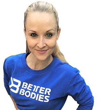 IKKE KUN TØFF TRENING: - Du trenger den andre biten også, sier styrkecoach Silje Mariela Westby.