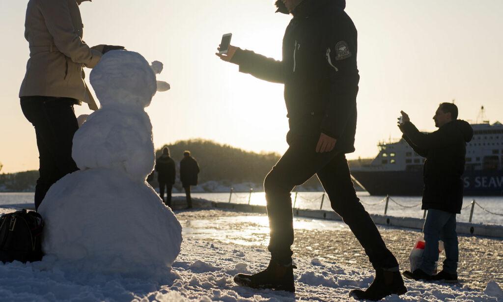 image: Her blir det snø denne uka
