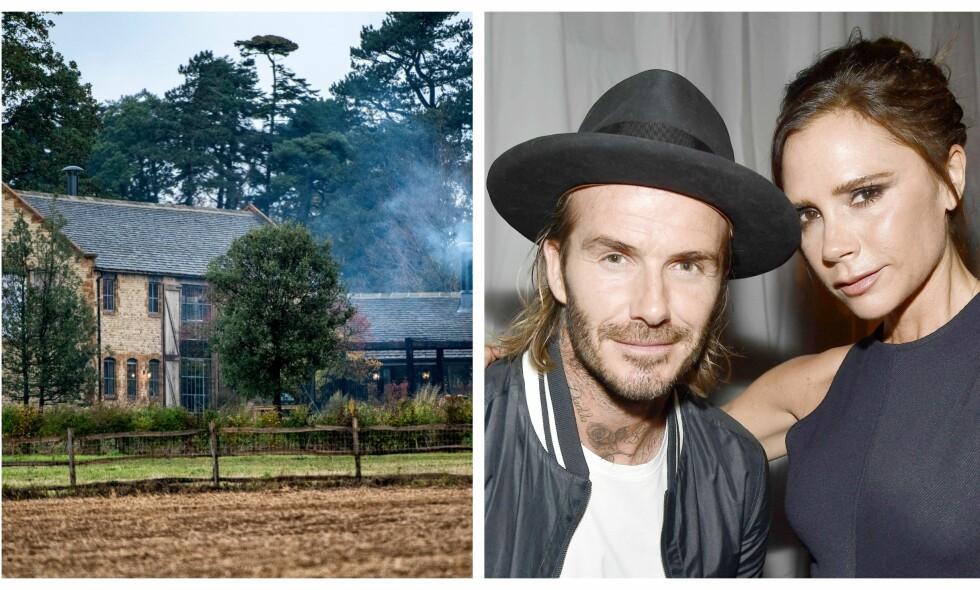 SJOKKERT: Beckham-paret skal være rystet etter den opprivende hendelsen. Foto: Splash News/ NTB Scanpix