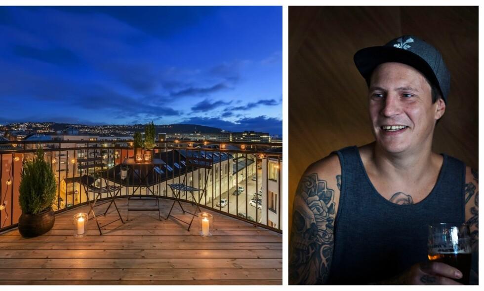 FLYTTEKLAR: Pål Tøien, bedre kjent som OnklP, selger nå leiligheten sin på Tøyen. Foto: Alejandro Villanueva (t.v.) og Frank Karlsen / Dagbladet