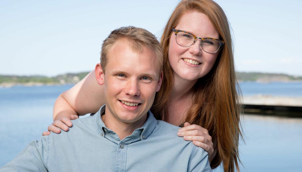 TOK BRÅTT SLUTT: Det ble ingen lykkelig slutt for Kristoffer Heldal (30) og frier Anita Aas Kristiansen (27). Nå forteller de hva som gikk galt. Foto: TV 2