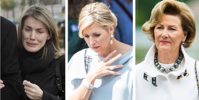 Dronningene deler en stor sorg