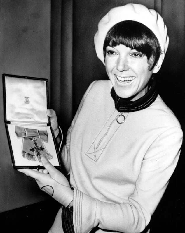 Mary Quant. Foto: Scanpix
