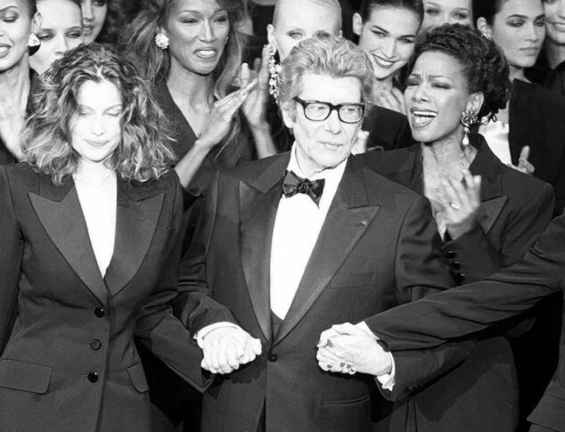 Yves Saint Laurent. Foto: Scanpix