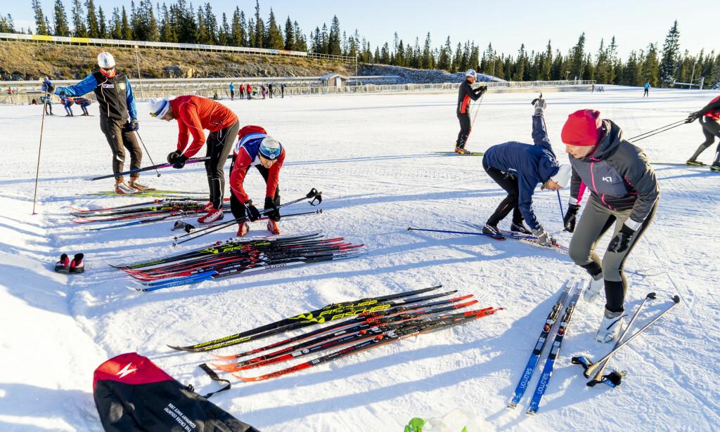 TEST AV FELLESKI: Dinside har i samarbeid med Skiforeningen testet felleski for aktive utøvere. Her er det mye bra - men også store forskjeller. Foto: Per Ervland