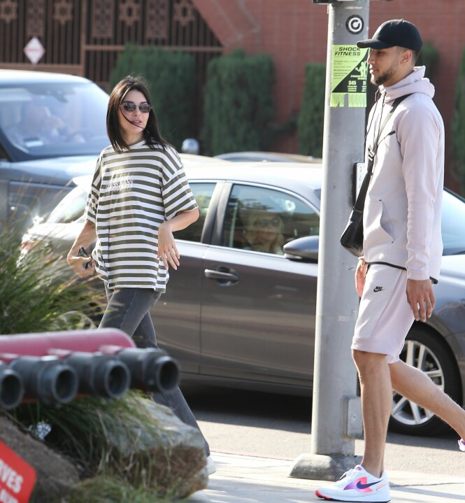 <strong>DATER:</strong> Kendall og Ben skal ha datet det siste halve året. Ingen av dem har foreløpig bekreftet forholdet. Foto: NTB Scanpix