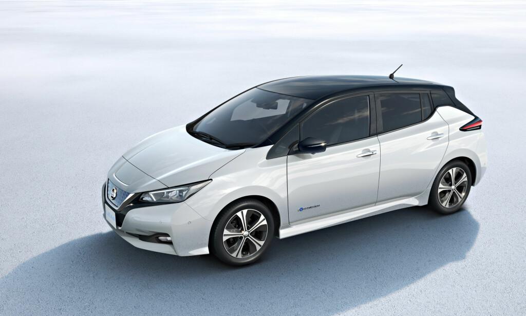 UTSATT: Nissan utsetter lansering av ny Leaf med høyere ytelse på grunn av skandale. Foto: Nissan