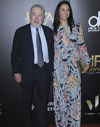 COLOR AND DATE: Robert de Niro and daughter Drena have been in Hollywood for a couple of years ago. Photo: NTB Scanpix