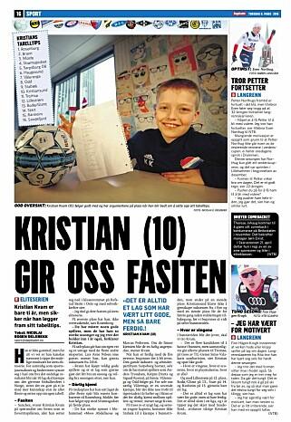 Faksimile Dagbladet 08.03.2018