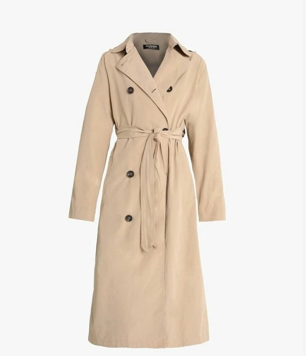 Trenchcoat fra Fashion Union |750,-| https://www.zalando.no/fashion-union-albert-trenchcoat-beige-faa21u005-b11.html