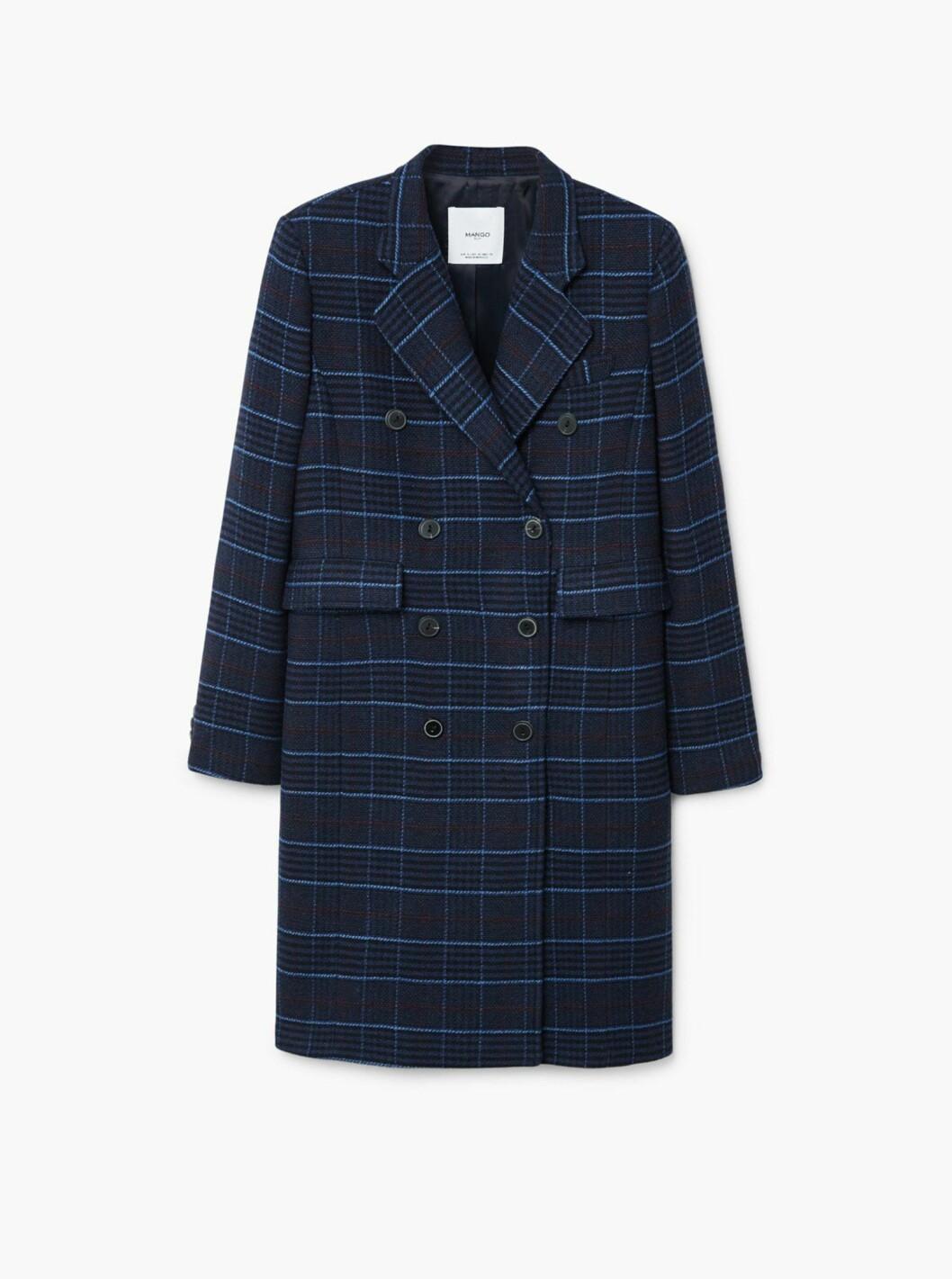 Kåpe fra Mango |1400,-| https://shop.mango.com/no-en/women/coats-coats/checked-structured-coat_31035730.html?c=69&n=1&s=prendas_she.familia;15