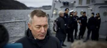 Forsvarsministeren har gått seg vill