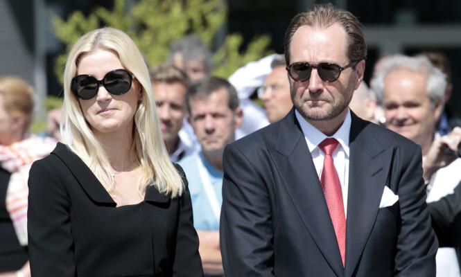 SKILT FRA HVERANDRE: I forbindelse med skilsmissen måtte kona overføre store verdier tilbake til Kjell Inge Røkke. Foto: NTB Scanpix