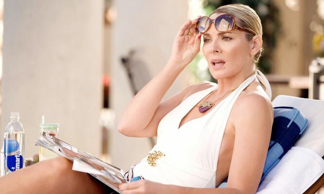 SA NEI: Kim Cattralls (avbildet) nei, førte til at tredje «Sex og Singelliv»-film måtte legges på is. FOTO: HBO