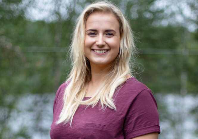<strong>GIKK SKEIS:</strong> Karianne Amundsen ønsker å bygge opp en artistkarriere. Hun er inntil videre best kjent for sin deltakelse i årets «Farmen». Foto: Alex Iversen / TV 2