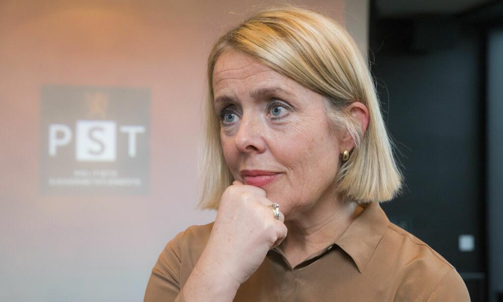 POLITIDIREKTØR: PST-sjef Benedicte Bjørnland blir ny politidirektør. Foto: Berit Roald / NTB scanpix
