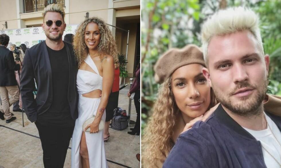 BLIR MANN OG KONE: Sangstjernen planlegger bryllup. Foto: Instagram/Leona Lewis