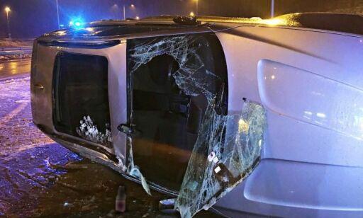 image: Flere ulykker på glatte veier: - Hold avstand!