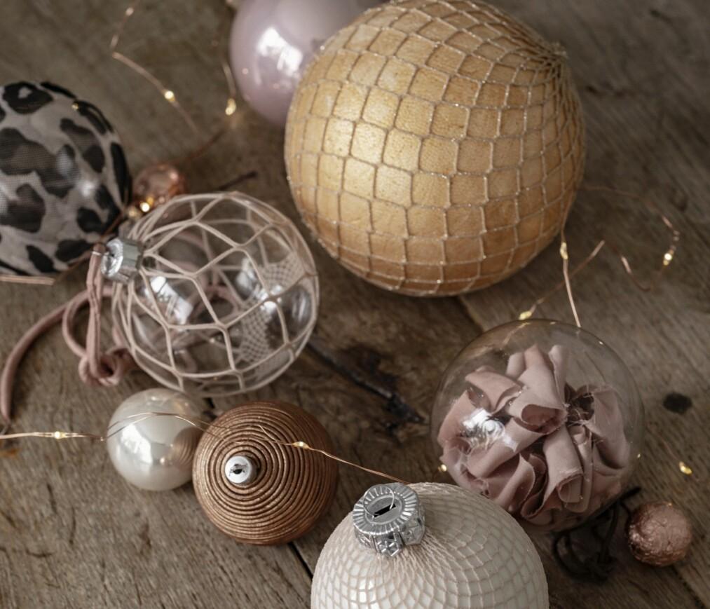 JULEVERKSTED: Trenger du inspirasjon til hva du kan lage under årets juleverksted? Her får du 11 gode tips fra oss! FOTO: Line Kay