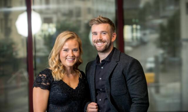 9a409744 POPULÆR DUO: Helene Olafsen og Stian Blipp ledet sin første  «Senkveld»-sesong