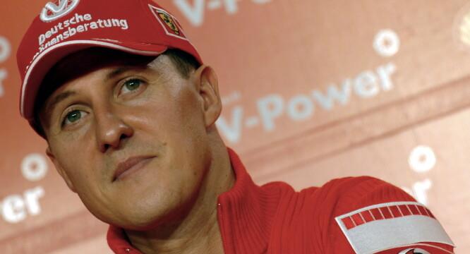 <strong>UVISST:</strong> Det er få som vet hvordan det går med Michael Schumacher i dag. Foto: NTB Scanpix