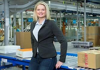 Rikke Kyllenstjerna, netthandelsekspert i Post Nord. Foto: Post Nord.