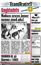 NAKEN GREVE: Den fjerde sommerkassetten kom i 1982, da med radikale Tramteatret.
