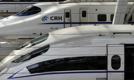 image: Verdens raskeste tog går mer enn dobbelt så fort som Flytoget