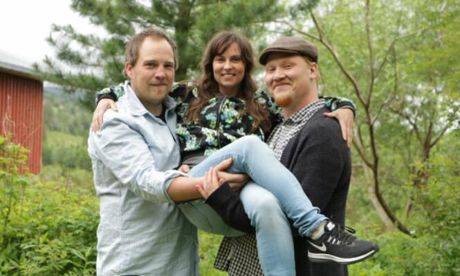 BYTTET VALG: Gudrun gikk først for Vegar (til venstre), men etter en romantisk ferie ble det klart at Thomas var den rette. Foto: TV 2