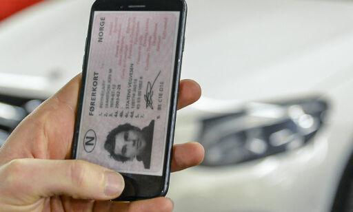 image: Slik blir førerkort-appen
