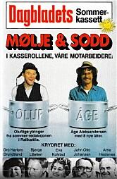 NUMMER TRE: Oluf (mangeårig Dagblad-medarbeider Arthur Arntzen) og Åge Aleksandersen lagde kassett nummer tre.