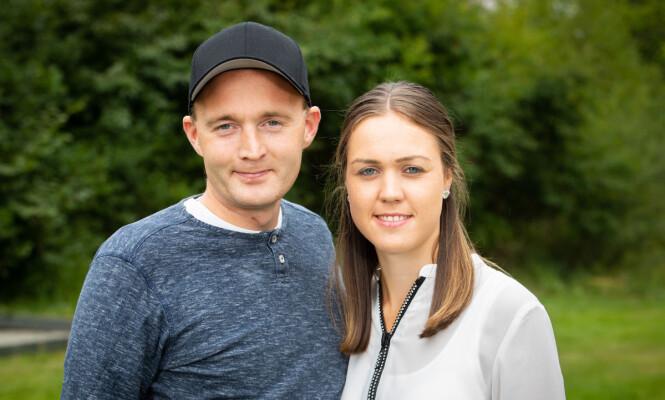 VENTER PÅ KJÆRLIGHETEN: Både Bjørn og Christina er klare for å finne seg en partner, selv om de ikke valgte hverandre. Foto: TV 2