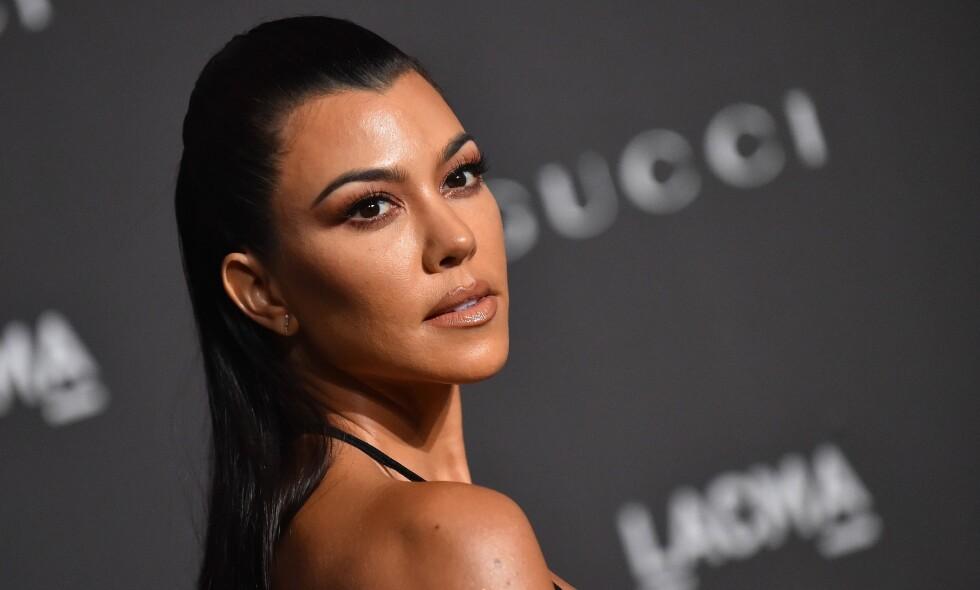 PLAGSOMT PROSJEKT: Selv om Kourtney Kardashian (39) ikke vet om hun kommer til å få flere barn, tar hun åpenbart ingen sjanser. Ønsket om å være på den sikre siden kommer riktignok ikke gratis. Foto: NTB Scanpix
